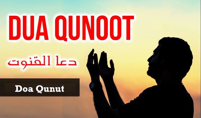 bacaan Doa-Qunut